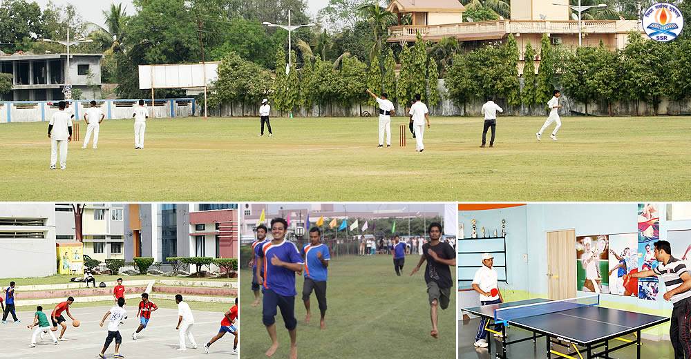 Encouraging Sports with Cricket Ground, Volley ball & Basket Ball Courts & many more...